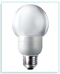 DecoLED lamp E27 Cool White - 230V
